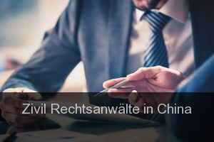 Zivil Rechtsanwälte in China